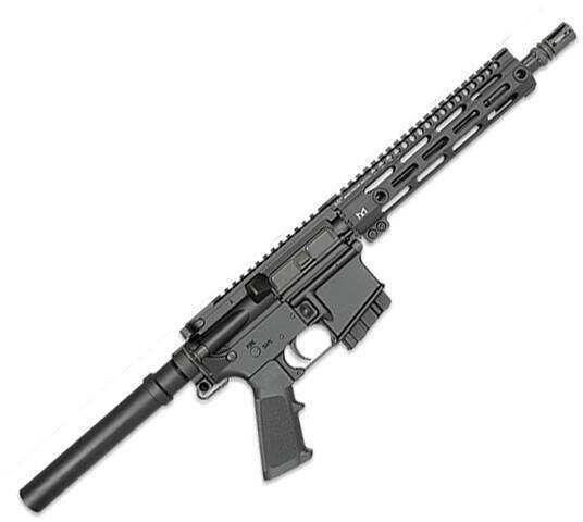 "Midwest Industries Semi-Automatic 223 Remington /5.56mm NATO 10.5"" Barrel Black Finish 10 Round Mag 9"" Key-Mod Rail"