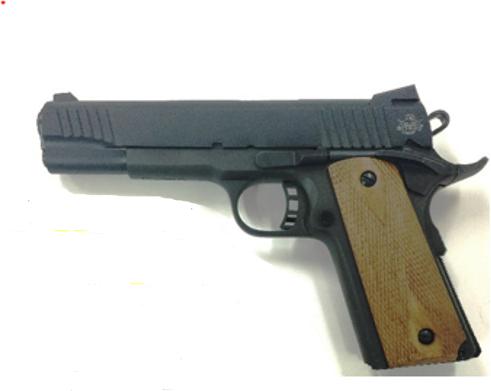 Rock Island Armory Semi-Auto Pistol M1911-A1 FS 9MM PK/WD 9+1 AMB 3 MAGS   FIXED SIGHTS 9mm Barrel 5