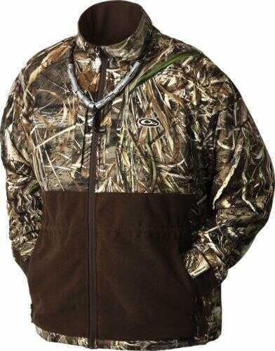 Drake Waterfowl Drake Eqwader Full Zip Jacket Max-5 Size Medium