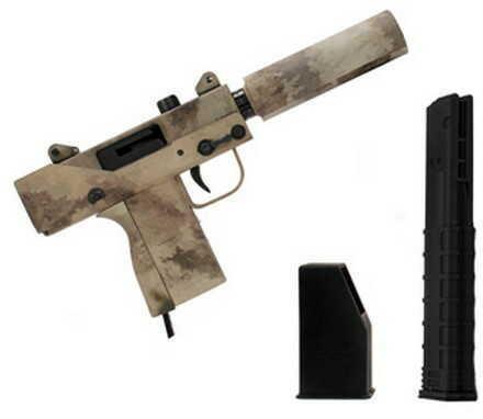 "Master Piece Arms Mini 9mm Luger Pistol 3.5"" Threaded Barrel, 30 Round Camo MPA930T-AC"