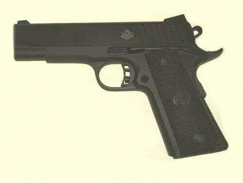 Rock Island Armory Semi-Auto Pistol M1911A1 MS 45ACP PRK/PLY 4.3 MIDSIZE PARKERIZED/POLY GRIPS 45 AC