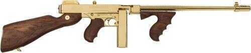 "Auto Ordnance Thompson 1927A1 Carbine Rifle 45 ACP 16.5"" Barrel Titanium Gold With 50 Round And 20 Round Magazines Semi-Auto"