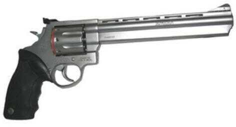 """Revolver Taurus M608 357 Magnum 8 3/8"""" Barrel Stainless Steel Adjustable Sight 8 Round 2608089"""