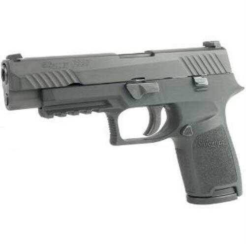 "Sig Sauer P320 9mm Compact Medium Pistol 4.7"" Barrel 15 Rounds Black with Full Length Slide"