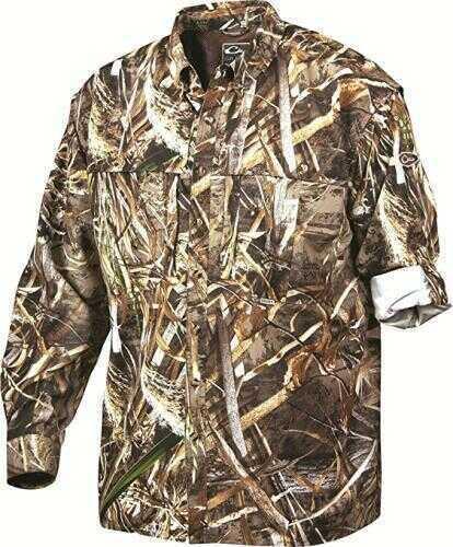 Drake Waterfowl Long Sleeve Wingshooter Shirt Max-5 X-Large