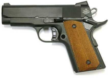 "Rock Island Armory Semi-Auto Pistol Compact M1911-A1 CS 45ACP 3.5"" Barrel Parkerized Finished Wood Grip Semi Automatic Pistol"
