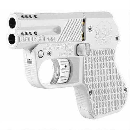 Doubletap Defense Doubletap Pistol 9mm Luger White Aluminum DT009003