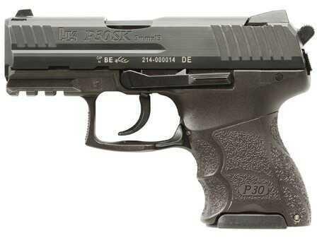 Heckler & Koch P30SK V3 9mm Luger Subcompact Pistol Rear Decock 3 10 Round magazines 730903KLEA5