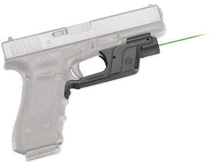 Crimson Trace Green Laserguard Glock 17, 12, 22, 23, 34, 35, BP LG-452-S