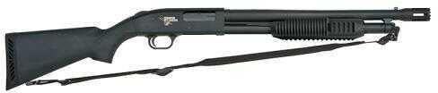"""Mossberg 500 12 Gauge Shotgun 18.5"""" Barrel Blued Matte Thunder Ranch Synthetic Stock"""