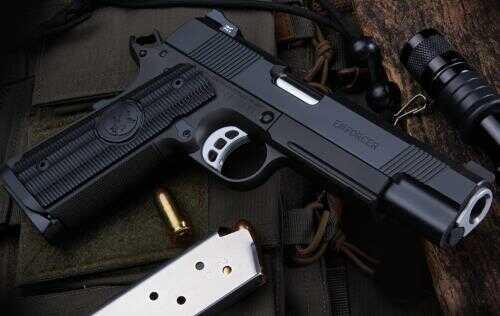 Nighthawk Custom Semi-Auto Pistol Enforcer 45 ACP S G10 Grips 8+1 Capacity Steel Frame Heinie Ledge