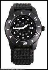 Smith & Wesson Soldier Swiss Tritium Black Nylon Strap Watch