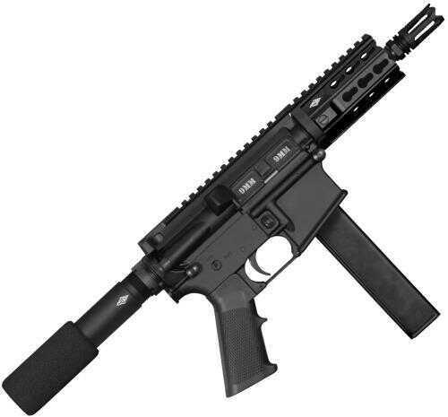 """Yankee Hill Machine 9MM AR PISTOL 5.5"""" Threaded Barrel Black 32 Round"""