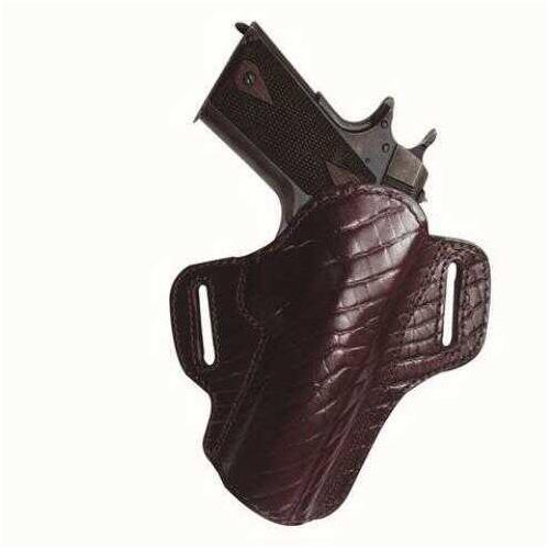 "Tagua Premium Open Top Belt Holster Colt 1911 - 4"" Burgundy"