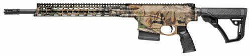 "Daniel Defense Ambush DDM4 AR-15 Semi Auto Rifle 6.8 Remington SPC II 18"" Barrel 5 Round Capacity Geissele SSA Trigger Free Float M-LOK Hand Guard 6 Position Stock Realtree Xtra Finish"