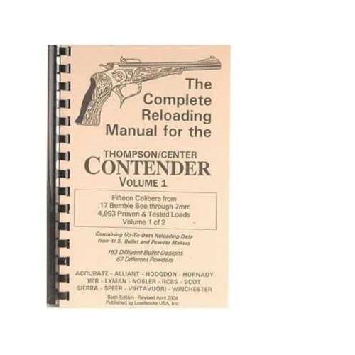Loadbooks USA Loadbooks T/C Contender Vol.1. Each Md: LBTC1