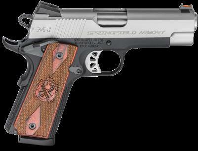 "Pistol Springfield Armory 1911 Emp Lightweight Champion 9mm 10 Round 4"" Barrel Bi-tone"