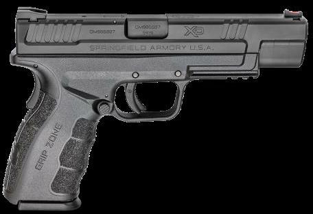 "Pistol Springfield Armory XD Mod2 9mm 16rd 5"" Barrel Black Finish Black Frame"