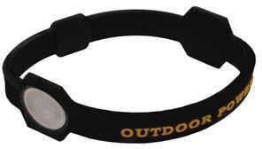 AES Outdoors Team Realtree Outdoor Power Bracelet Black, X-Large RT-PB-XL-BLK