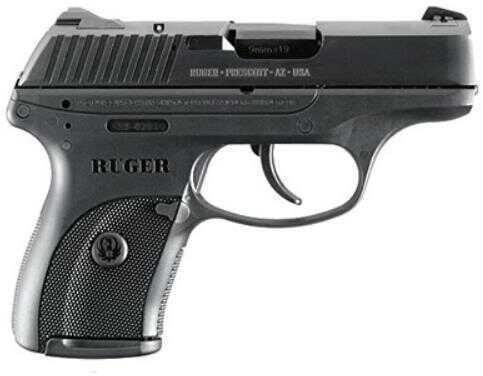 "Pistol Ruger LC9 9mm Luger 3.19"" Blue 7 Round 3200"