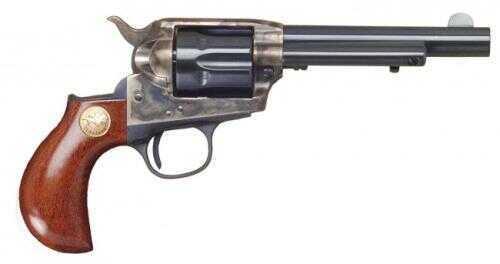 """Cimarron Lightning .41 Colt 4.75"""" Barrel Lightning Case Hardened Pre-War, Standard Blue Finish Revolver 1-Piece Walnut Grip Md: CA3055"""