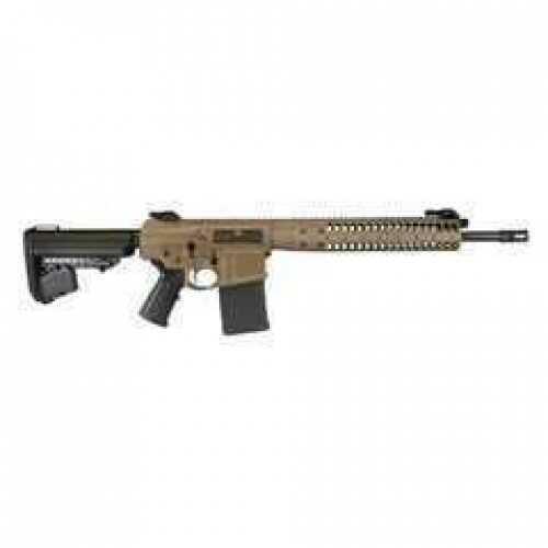 "Rifle LWRC Rifle IC-REPR 7.62mm 20"" Barrel Flat Dark Earth Short Stroke Piston, CA Compliant"