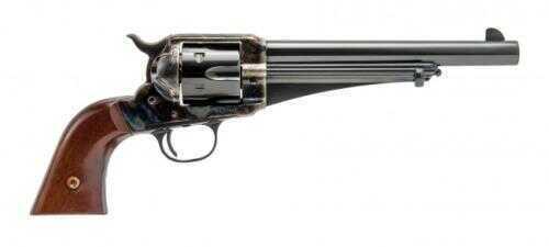 "Cimarron 1875 Outlaw 357 Magnum /38 Special 7.5"" Barrel Standard Blued Frame And Finish Revolver 1-Piece Walnut Grip Md: CA150"