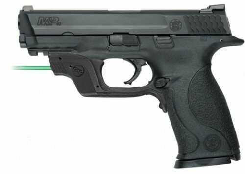 "Smith & Wesson M&P40 40 S&W 4.25"" Barrel With Green Ctc Laserguard Semi-Automatic Pistol"