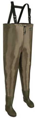 Allen Cases Allen Black River Hip Wader Brown Size 10 11760