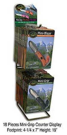 Outdoor Edge Cutlery Corp 18 Piece Mini-Grip Display (Black,Pink,Orange) MGD-18
