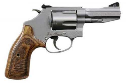 "Smith & Wesson TALO 60 Pro Series Revolver 38 Special +P 3"" Barrel 5 Round Wood Grip"