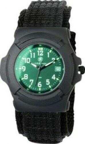 Smith & Wesson Men's Lawman Nylon Strap Watch Black