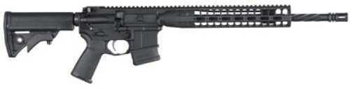 "LWRC Direct Impingement AR-15 Rifle 5.56mm NATO 16.1"" Barrel 10 RoundMag Black Finish CA Compliant Semi-Automatic Rifle"