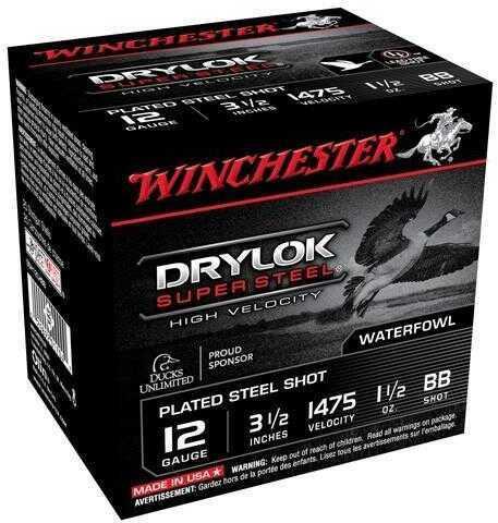 "Winchester Supreme HV BB Steel 12 Gauge 3.5"" 1.5Oz Ammunition SSH12LHBB"