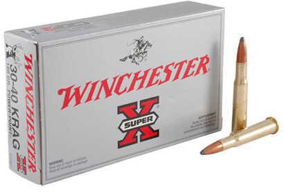 Winchester 30-40 Krag 180Gr. Powerpoint/20 X30401