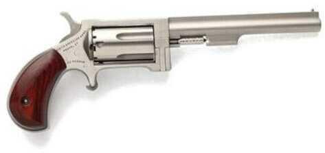 "North American Arms Mini Revolver Sidewinder 22 Magnum 4"" Barrel 5 Round Stainless Steel"