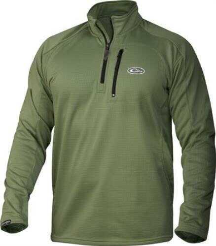 Drake Waterfowl Drake Breathlite 1/4 Zip Jacket Green 2X Large
