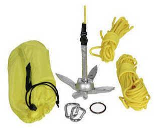 Seattle Sports Kayak Fishing Anchor Kit 3.25 Lb Black 081800