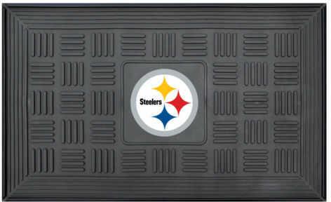 Fanmats Medallion Door Mat Nfl - Pittsburgh Steelers