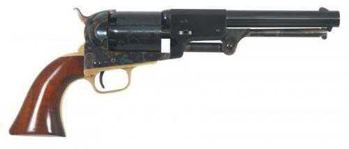 "Cimarron 3rd Model Dragoon Percussion Revolver 44 Caliber 7.5"" Barrel Case Hardened Frame Brass Walnut Grip Standard Blue"