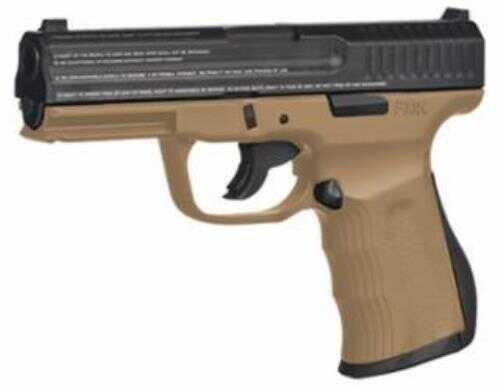 "FMK Firearms FMK Pistol 9C1G2-Fat Engraved 9mm 4"" Barrel 14 Rounds Dark Earth Bill"