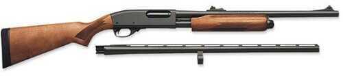"Remington 870 Express  12 Gauge Shotgun 3.5"" Chamber  2 Barrel Combo 26"" Vent Rib and 20"" Rifled  Supermag"