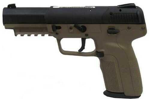 Pistol FNH USA Five-seven USG 5.7x28, Flat Dark Earth, Fixed Sight, 3 20-Round Magazines 3868929232