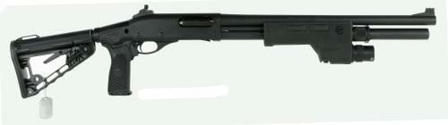 "Wilson Combat CQB 12 Gauge Pump Shotgun 18.5"" Barrel 3"" Chamber 6 Round Carbine Collapsible Super-Stock"