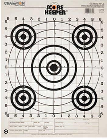 Champion Traps and Targets 100 Yard Sightin B/B (Per 100) 45746