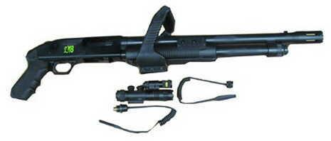 Mossberg ZMB Series 500 Chainsaw 12 Gauge Shotgun Light/Laser Combo 6 Round 50461
