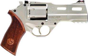"Chiappa Rhino Revolver 357 Magnum 4"" Barrel Alloy Frame Chrome Finish Single Action 6 Round Pistol"