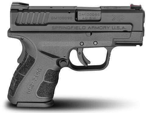 "Springfield Armory XD Mod 2 40 S&W 10 Round 3"" Barrel Black Finish Black Frame Semi-Automatic Pistol"