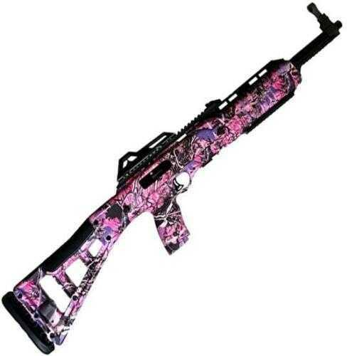 "Hi-Point Rifle MKS Hi Point 9TS 9mm 16.5"" Barrel Target Stock Pink Camo 10 Rounds"