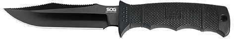 SOG Knives SEAL Pup Elite Black TiNi Blade, Kydex Sheath E37S-K